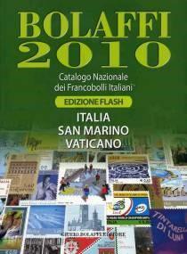 Bolaffi 2010, Catalogo Nazionale dei Francobolli Italiani, Italia San Marino Vaticano