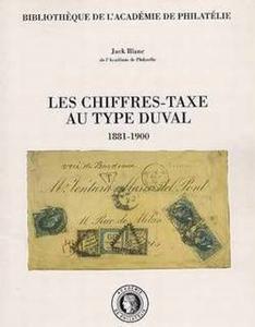 Les chiffres-taxe au type Duval 1881-1900