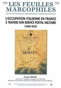 L'occupation italienne en France à travers son service postal militaire (1940-1943)